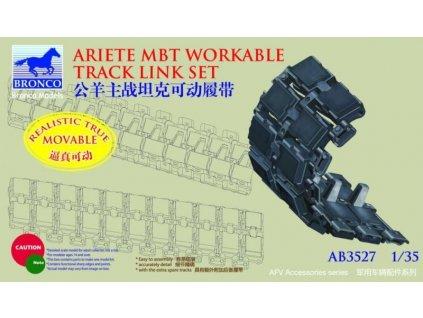 Italian C-1 Ariete MBT Workable Track Link Set 1:35