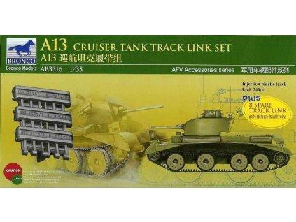 A13 Cruiser Tank Mk.III Track Link Set 1:35