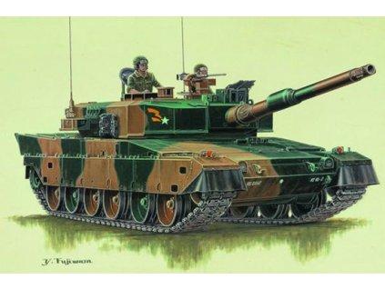 Japan type 90 tank 1:72