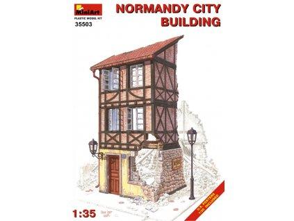 Normandy City Building / mestská budova 1:35