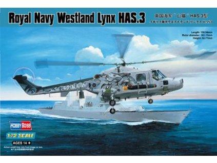 Royal Navy Westland Lynx HAS 3 1:72