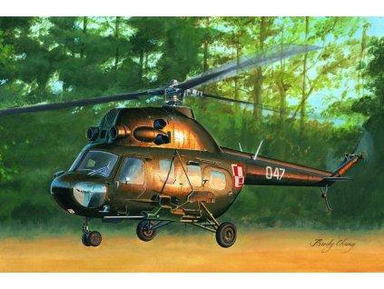 Mi-2US Hoplite gunship variant 1:72