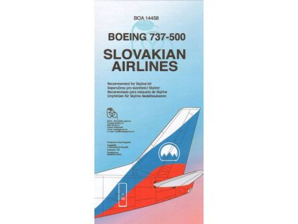 Boeing 737-500 Slovakian Airlines 1:144