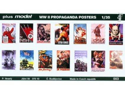 Vojnové plagáty WWII 2. 1:35