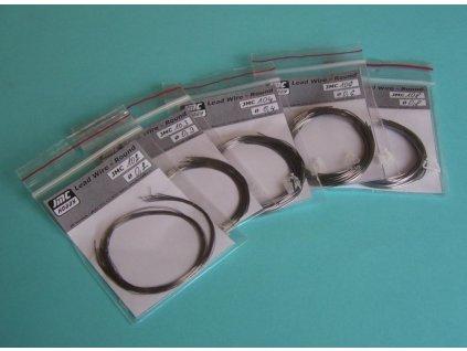 Olovený drôt plochý 0,4x1,0mm / 9ks