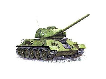 Ruský tank T-34/85 1:35