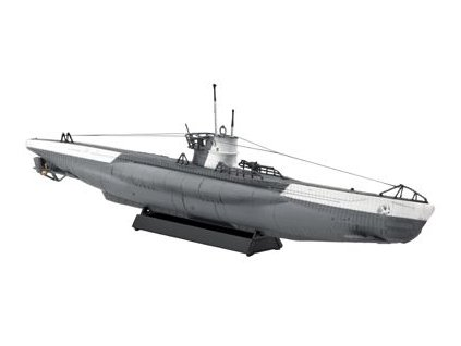 German Submarine TYPE VII C 1:350