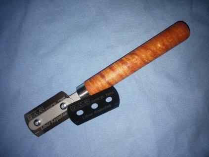 Razor blade with handle / 2 žiletky s rukoväťou