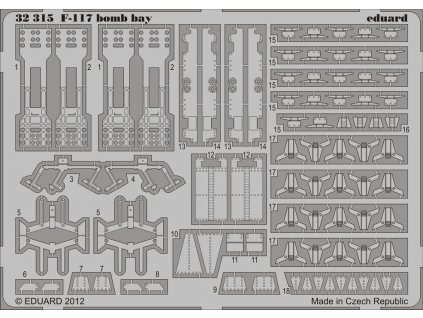 F-117 pumovnica (Trumpeter) 1:32