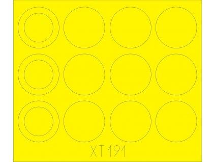 Merkava IIID masky na kolesá (Hobby Boss) 1:35