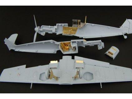 Bf 109E-4 - PE set (Airfix) 1:72