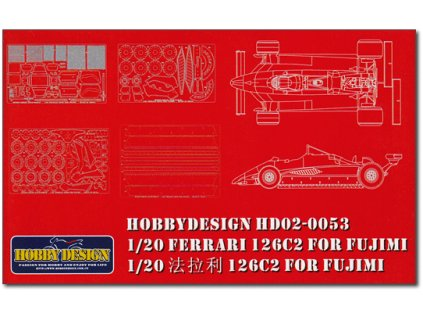 FERRARI 126C2 FOR FUJIMI 1:20