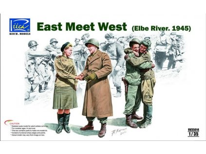 East Meet West (Elbe River 1945) 1:35
