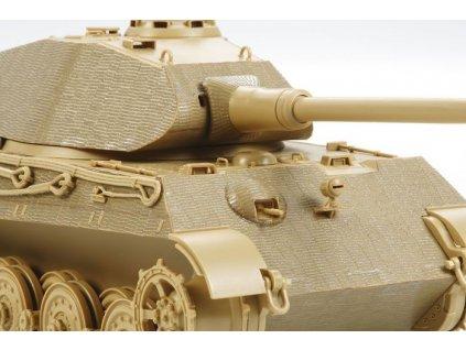 Zimmerit Coating Sheet - King Tiger Porsche Turret 1:35