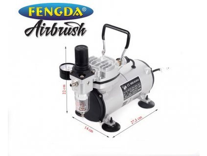 vyr 503Airbrush kompresor Fengda AS18 2