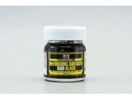 Mr.Finish Surfacer 1500 Black - Striekací tmel čierny 40ml