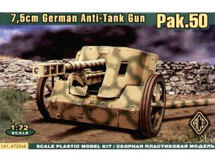 7,5cm Pak.50 Panzerabwehrkanone 1:72