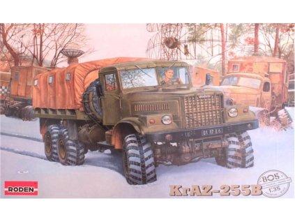 KrAZ-255B Soviet heavy truck 1:35