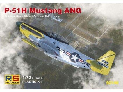 P-51H Mustang ANG 1:72