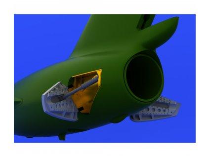 BRASSIN MiG-15 brzdiace štíty (Eduard) 1:72