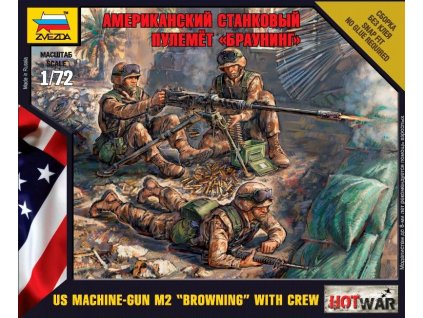US Browning w/crew 1:72