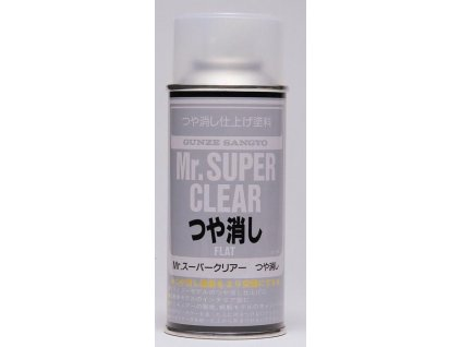 Mr.Super Clear Flat - Matný lak 170ml