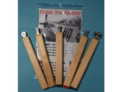 Nitovadlo Rosie the Riveter 0.50mm (1/72)