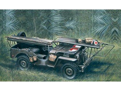 1/4 ton. 4x4 Ambulance Jeep 1:35