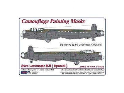 Avro Lancaster B.II (Special) masks (Airfix) 1:72