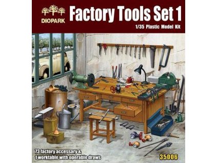 Factory Tools Set 1:35