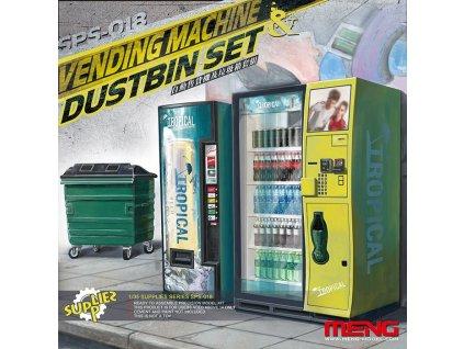 Automat na nápoje a popolnica - Set 1:35
