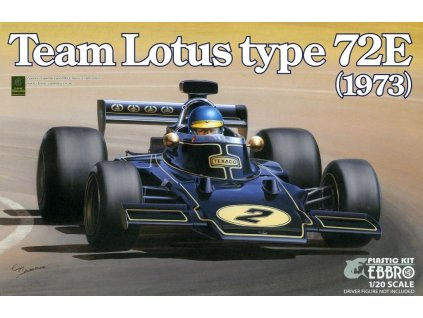 Team Lotus Type 72E 1973 1:20