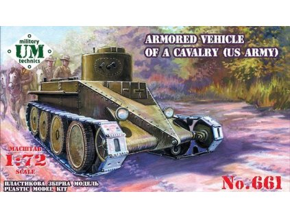 "A.V.of a cavalry ""Combat cars T1""US 1:72"