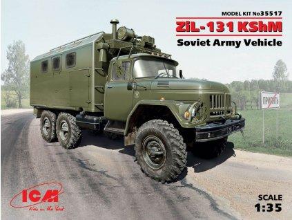 ZIL-131 KShM 1:35