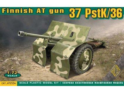 Finnish anti-tank gun 37 PstK/36 1:72