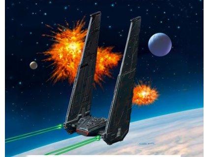 Kylo Ren's Command Shuttle Star Wars 1:93