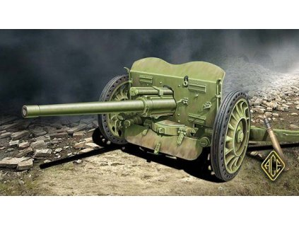 French 47mm Anti-tank gun 1937 Hotchkiss 1:72