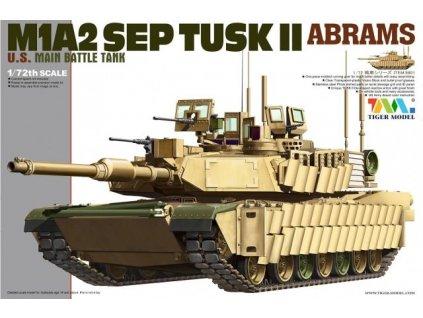 M1A2 SEP TUSK II Abrams 1:72