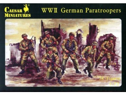 WWII German Paratroopers 1:72