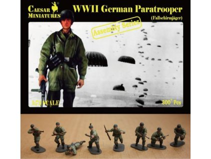 German Paratrooper -Fallschirmjager (ASSEMBLY SERIES) 1:72