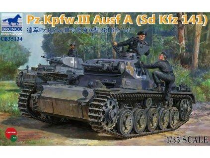 Panzerkampfwagen III Ausf. A (Sd Kfz 141) 1:35