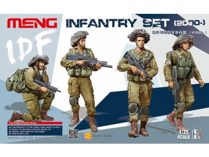 IDF Infantry Set 1:35