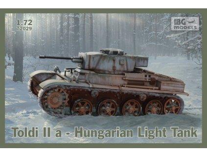 TOLDI IIa Hungarian Light Tank 1:72