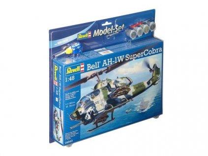 AH-1W SuperCobra Model Set 1:48