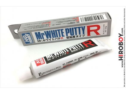 Biely tmel Mr. White Putty R