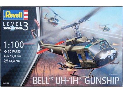 Bell UH-1H Gunship 1:100