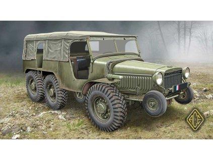Francúzske delostrelecké vozidlo (6x6) W-15T 1:72