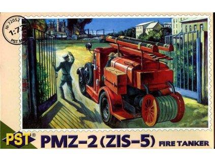 PMZ-2 (ZIS-6) hasičská cisterna 1:72