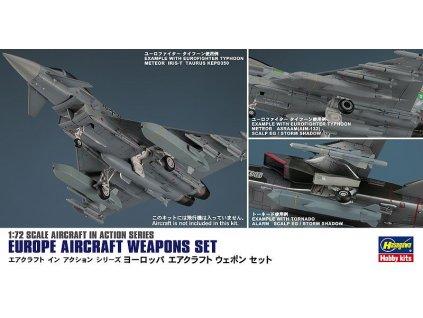 Letecká výzbroj - sada pre európske lietadlá 1:72
