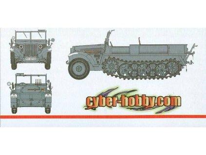 Sd.Kfz.10 Ausf.A 1940 prod 1:35